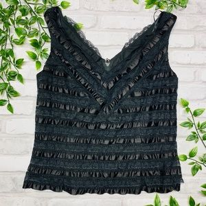 JS Collections Ruffle Top